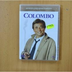 COLOMBO - QUINTA TEMPORADA - DVD