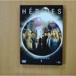 HEROES - SEGUNDA TEMPORADA - DVD