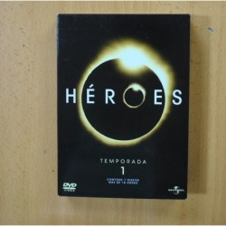 HEROES - PRIMERA TEMPORADA - DVD