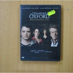 LOS CRIMENES DE OXFORD - DVD