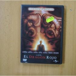 EL DRAGON ROJO - 2 DVD