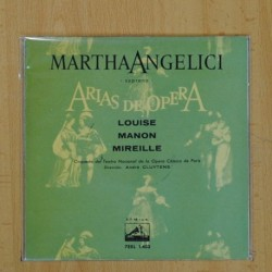 MARTHA ANGELICI - LOUISE + 2 - EP