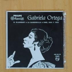 GABRIEL ORTEGA - EL BLANQUET + 2 - EP