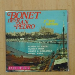 BONET DE SAN PEDRO - COPEO DE AMOR + 3 - EP