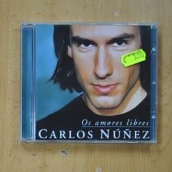 CARLOS NUÑEZ - OS AMORES LIBRES - CD