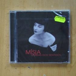 MISIA - GARRAS DOS SENTIDOS - CD