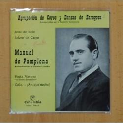MANUEL DE PAMPLONA - JOTAS DE BAILE + 3 - EP