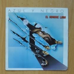 AZUL Y NEGRO - EL HOMBRE NEGRO - SINGLE