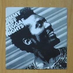 JIMMY CLIFF - REGGAE NIGHTS / ROOTS RADICAL - SINGLE