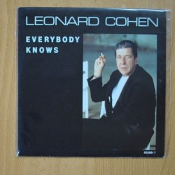 LEONARD COHEN - EVERYBODY KNOWS / THE PARTISAN - SINGLE