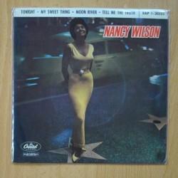 NANCY WILSON - TONIGHT / MOON RIVER / MY SWEET THING / TELL ME HE TRUTH - EP