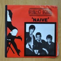 PUBLIC ZONE - NAIVE / INNOCENCE - PROMO - SINGLE