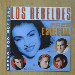 LOS REBELDES - ERES ESPECIAL / REBELDE CON CAUSA - PROMO - SINGLE