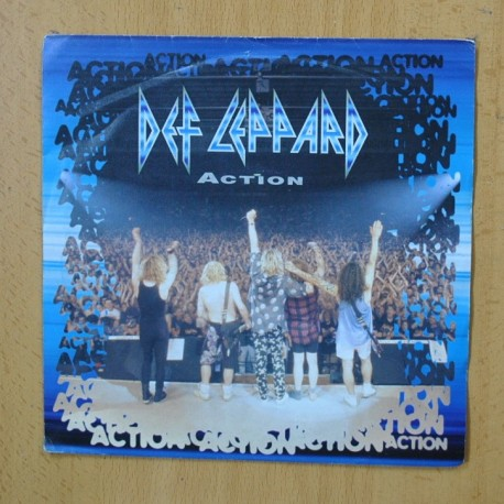 DEF LEPPARD - ACTION - SINGLE