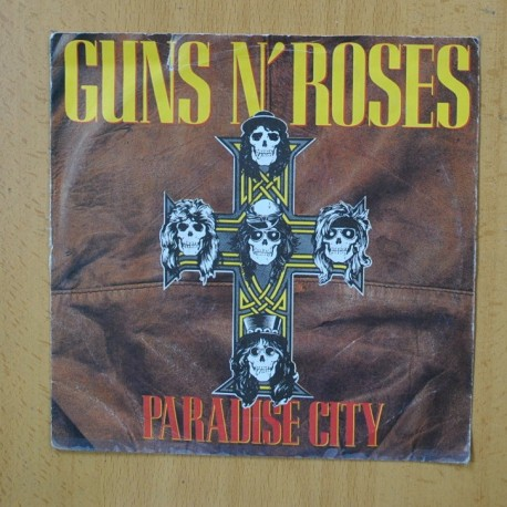 GUNS N ROSES - PARADISE CITY - SINGLE