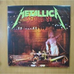 METALLICA - SEATTLE 89 - GATEFOLD - 3 LP