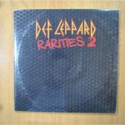 DEF LEPPARD - RARITIES 2 - 2 LP