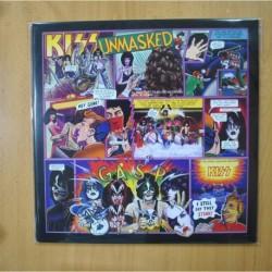 KISS - UNMASKED - CONTIENE POSTER - LP