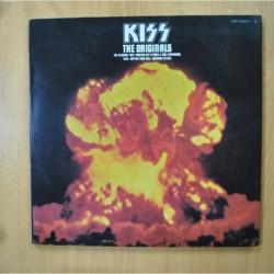 KISS - THE ORIGINALS - 2 LIBRETOS - 3 LP