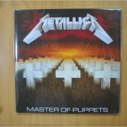 METALLICA - MASTER OF PUPPETS - SIN OBI - GATEFOLD - 2 LP