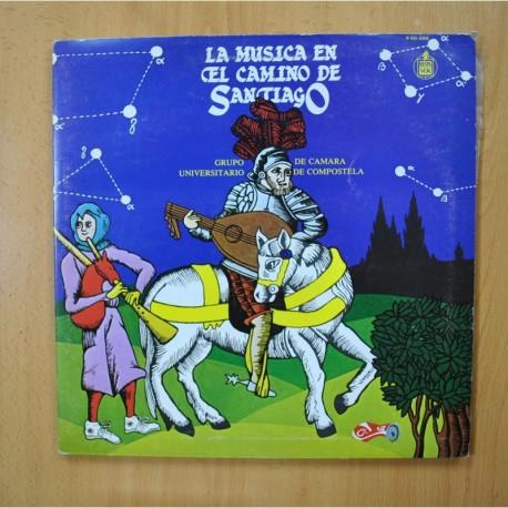 GRUPO UNIVERSITARIO DE CAMARA DE COMPOSTELA - LA MUSICA EN EL CAMINO DE SANTIAGO - GATEFOLD - LP
