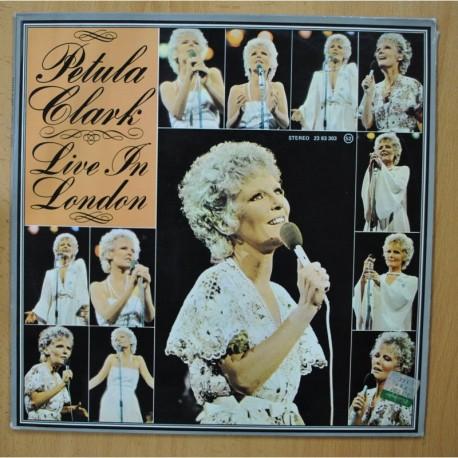 PETULA CLARK - LIVE IN LONDON - LP