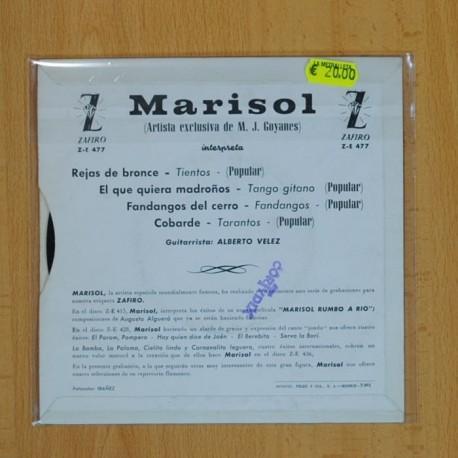 MARINOS - EN CALLES ESTRECHAS - SINGLE