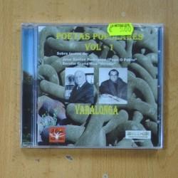 VARIOS - POETAS POPULARES VOL 1 - CD