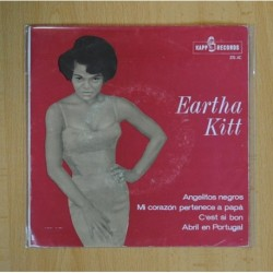 EARTHA KITT - ANGELITOS NEGROS + 3 - EP