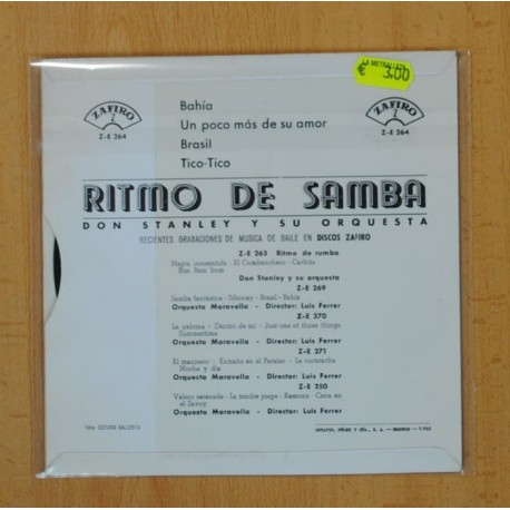 THE IMPRESSIONS - AL ESTE DE JAVA - BSO - SINGLE