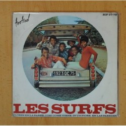 LES SURFS - FLORES EN LA PARED + 3 - EP