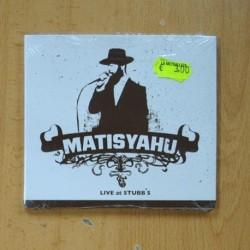 MATISYAHU - LIVE AT STUBB´S - CD