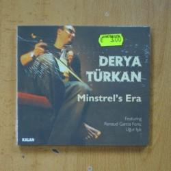 DERYA TURKAN - MINSTREL´S ERA - CD