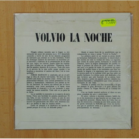 ROBERTO RIZO - LA CANCION DEL NEGRITO - ORIGINAL - SINGLE