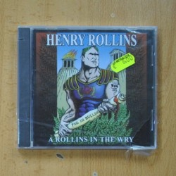 HENRY ROLLINS - A ROLLINS IN THE WRY - CD