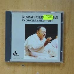 NUSRAT FATEH ALIKHAN - EN CONCERT A PARIS VOL 1 - CD