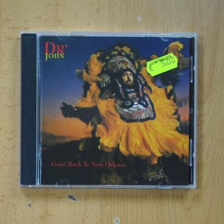 DR JOHN - GOIN BACK TO NEW ORLEANS - CD