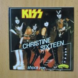 KISS - CHRISTINE SIXTEEN - SINGLE