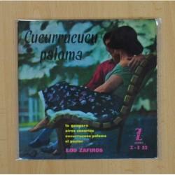 LOS ZAFIROS - CUCURRUCUCU PALOMA + 3 - EP