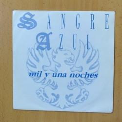 SANGRE AZUL - MIL Y UNA NOCHES - SINGLE