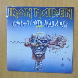 IRON MAIDEN - CAN I PLAY WITH MADNESS - SINGLE
