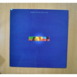 SIMPLE MINDS - REAL LIFE - LP