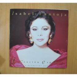 ISABEL PANTOJA - LA CANCION ESPAÑOLA - GATEFOLD 2 LP