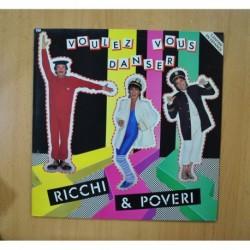 RICCHI AND POVERI - VOULEZ VOUS DANSER - LP