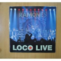 RAMONES - LOCO LIVE - LP