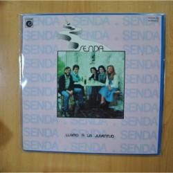 SENDA - LLAMO A LA JUVENTUD - GATEFOLD - PROMO - LP