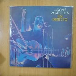JAYME MARQUES - EN DIRECTO - GATEFOLD - 2 LP
