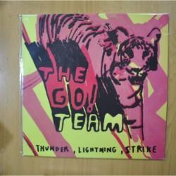 THE GO TEAM - THUNDER, LIGHTNING, STRIKE - LP