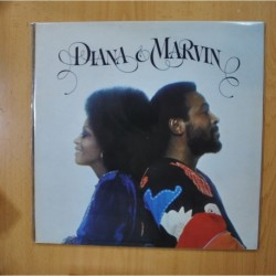 DIANA ROSS & MARVIN GAYE - DIANA & MARVIN - GATEFOLD - LP