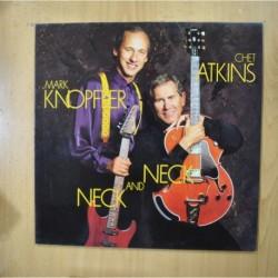 MARK KNOPFLER / CHET ATKINS - NECK AND NECK - LP